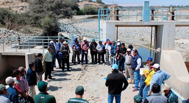 Perú promueve eficiencia labor Juntas Usuarios Pisco y Chancay-Huaral