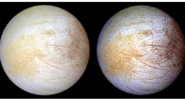 Detectado posible océano salado superficie luna Europa Júpiter