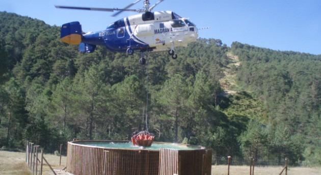 CHE colabora efectivos extinción incendios Atarés y Fornillos (Huesca)