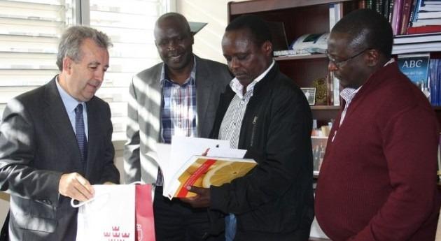 delegación Kenia visita Murcia conocer tecnología agrícola y sistemas riego
