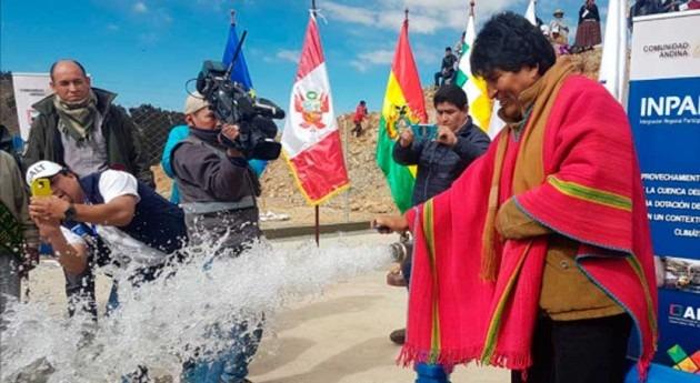 Bolivia cuadruplicó inversión agua y saneamiento últimos 12 años