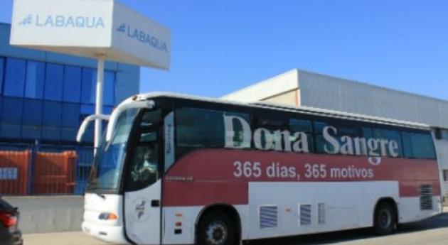 Labaqua participa campaña donación sangre Alicante