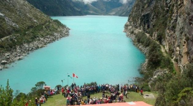 Laguna Parón Perú, declarada emergencia peligro desembalse