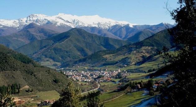 Vista de la villa de Potes, cabecera comarcal de Liébana (Wikipedia/CC).