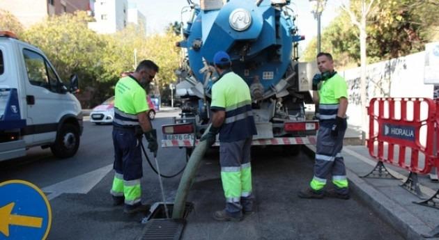 Hidralia ya ha limpiado 18.000 imbornales Marbella antes época lluvias