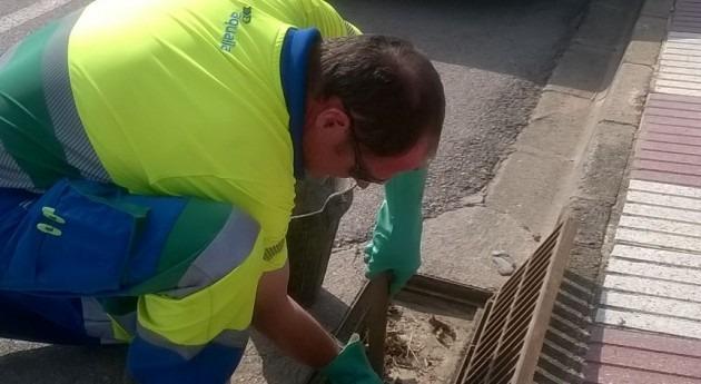 sistema videocámara inspecciona red agua y alcantarillado Llagostera