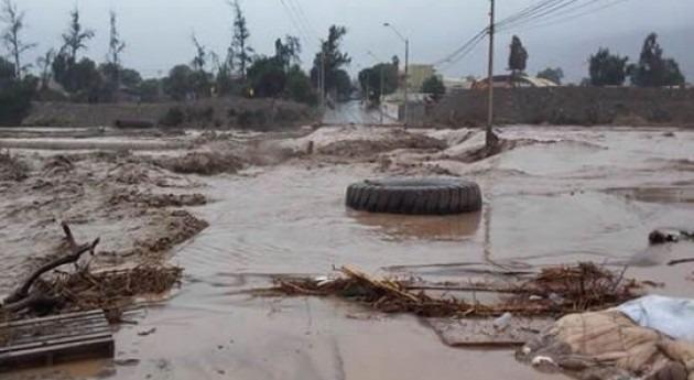Inundaciones en el norte de Chile (SISS).