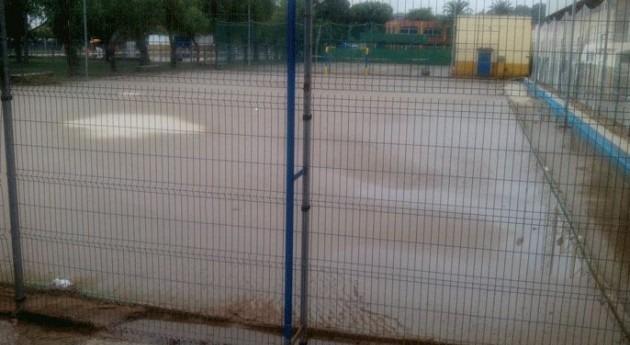 Inundaciones en San Juan.