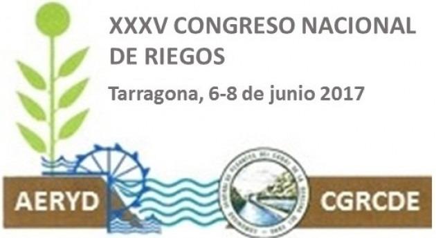 XXXV Congreso Nacional Riegos, Tarragona 6-8 junio 2017