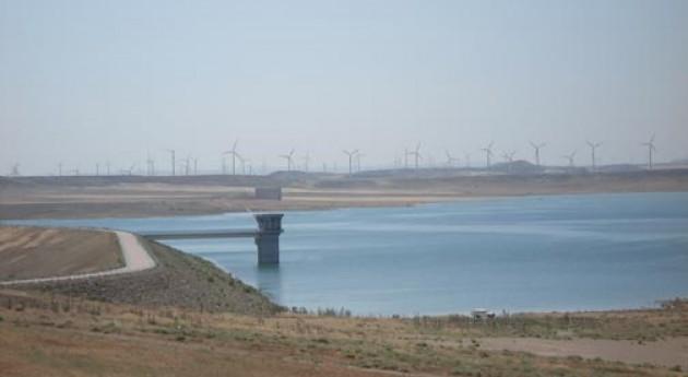 Aportaciones Loteta (Zaragoza) al Canal Imperial bajos caudales Eje Ebro