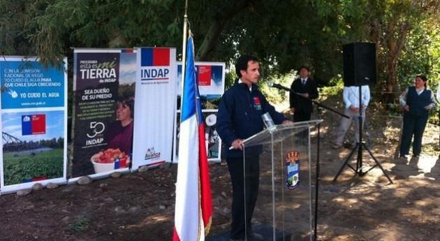 Chile inaugura obra más importante primer concurso riego