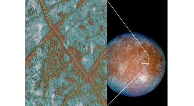 hielo luna Europa actúa como importante fuente calor