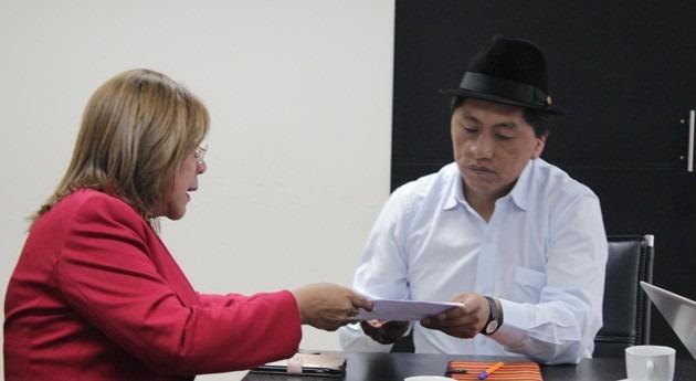 mancomunidad norte Ecuador entrega plan trabajo al Gobierno materia agua