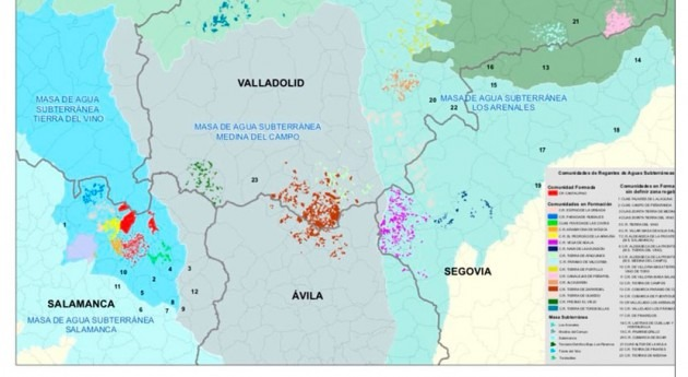 CHD tramita creación 39 comunidades usuarios aguas subterráneas