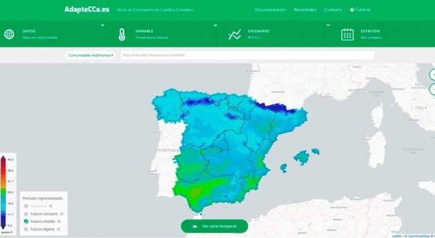 Inaugurada web informar impactos cambio climático
