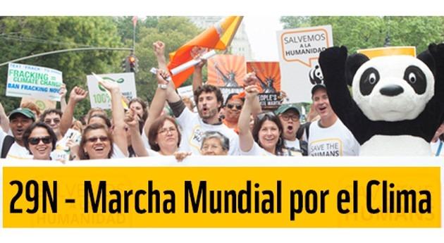 400 ONG animan ciudadanos participar Marcha mundial clima este fin semana