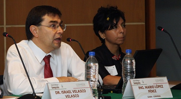 Mario López Pérez,  Gerente de Ingeniería y Asuntos Binacionales de Agua de la Conagua