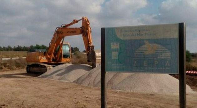 Ecologistas Acción denunciará roturación Marina Carmolí Unión Europea