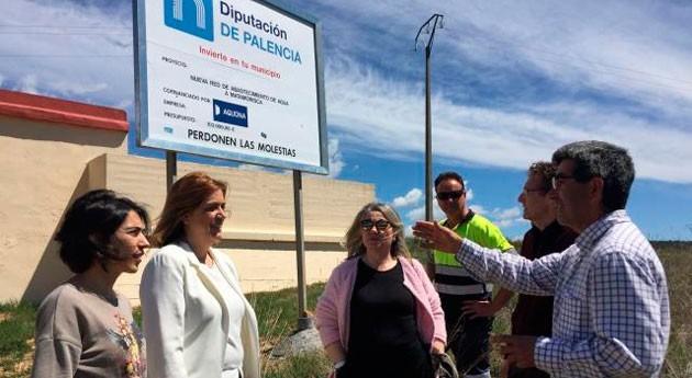 Palencia invierte 85.000 euros red abastecimiento agua Matamorisca