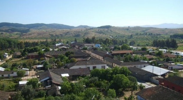 Poblado en MAule (Wikipedia/CC).