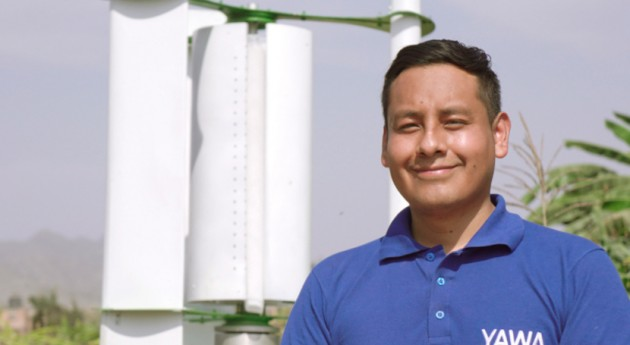 Convirtiendo aire agua zonas rurales Perú