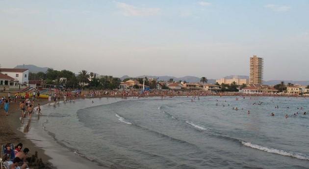 Vista de la Bahía de Mazarrón