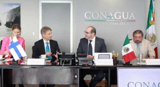 México y Finlandia refuerzan cooperación materia hídrica