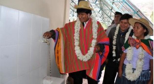 """programa """"Mi Riego"""" dispone 57 millones dólares Bolivia 2014"""