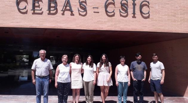 Reunión proyecto Microalbac, liderado FACSA, Murcia