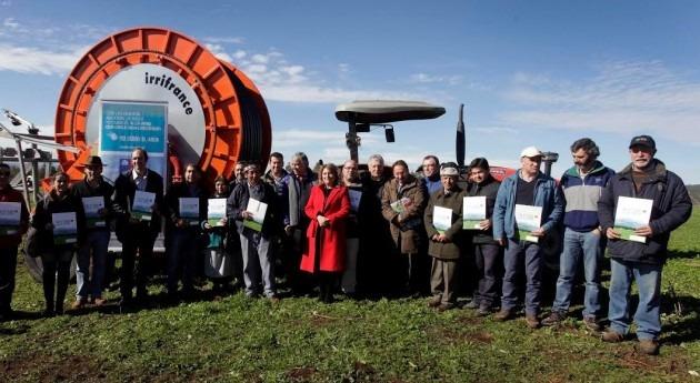 Minagri bonifica instalación sistemas riego pequeños y medianos agricultores Araucanía