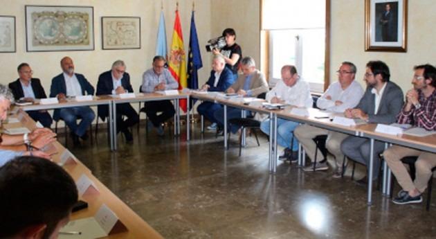 Subdelegación Gobierno Ourense reúne Comisión seguimiento Barbaña