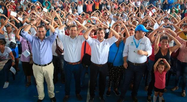 Gobierno colombiano inicia obras alcantarillado barrio San Carlos Meta