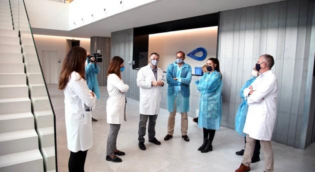 Mireia Molla visita GOLab, centros tecnológicos agua más grandes Europa