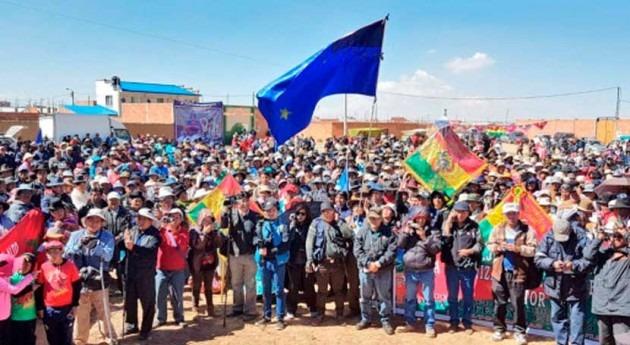 Bolivia amplía sistema alcantarillado San Felipe Seque abastecer 1.153 familias