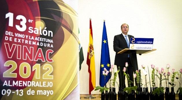 Monago anuncia liberación recursos hídricos disponibles regadíos Tierra Barros