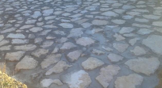CHE concluye obras impermeabilización y retirada lodos murallas Grisén