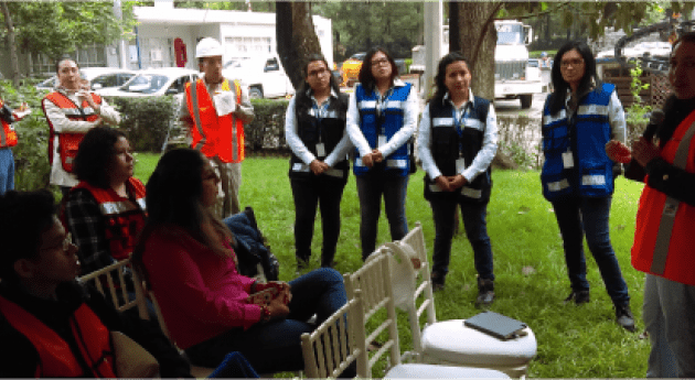 ANEAS asiste visita técnica Planta Tratamiento Agua Residual Chapultepec