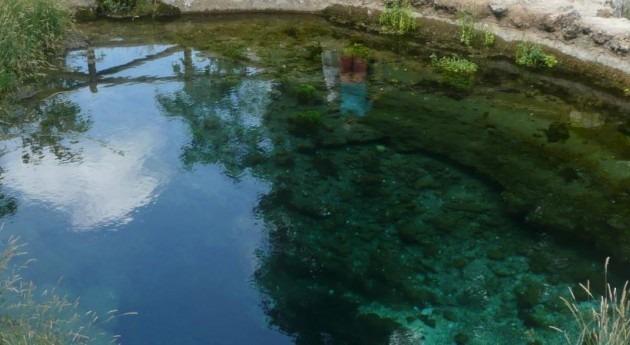Nacimiento del río Segura en Pontones (Jaén)