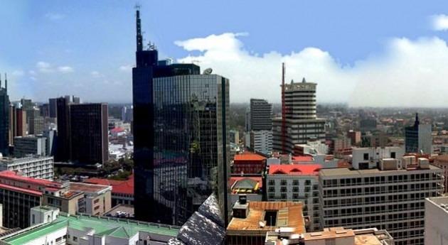 fuertes lluvias derrumban edificio Nairobi