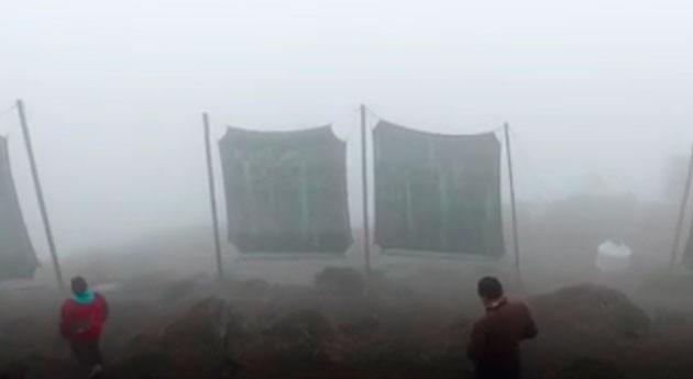 Cazar niebla disponer agua