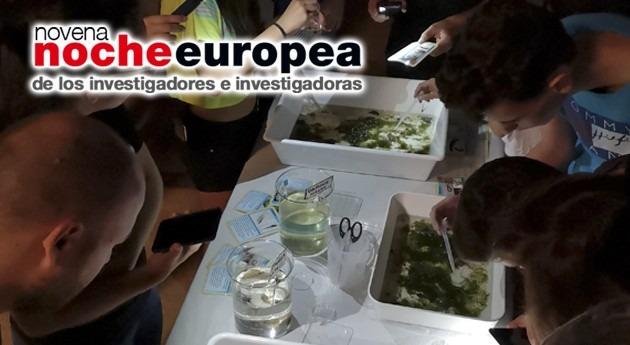 Gran Noche Europea Investigadores e Investigadoras Madrid IMDEA Agua