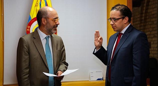 Jorge Andrés Carrillo Cardoso, nuevo viceministro Agua y Saneamiento Básico