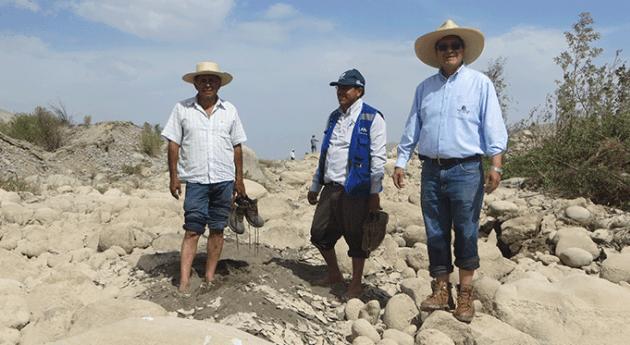 ANA inspecciona zona afectada deslizamientos valle Vítor