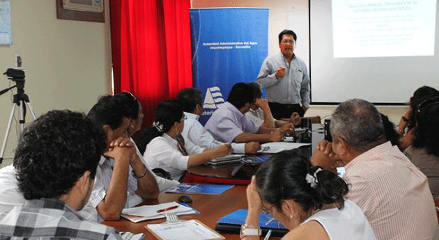 Piura ANA implementa acciones monitoreo cultura agua colegios región