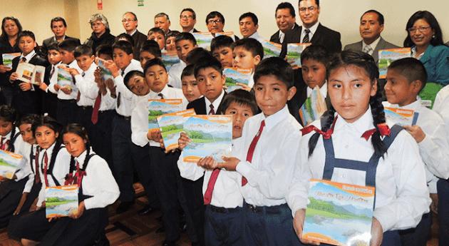 Perú: Niños Huancayo y Huancavelica elevan voces cuidar río Mantaro