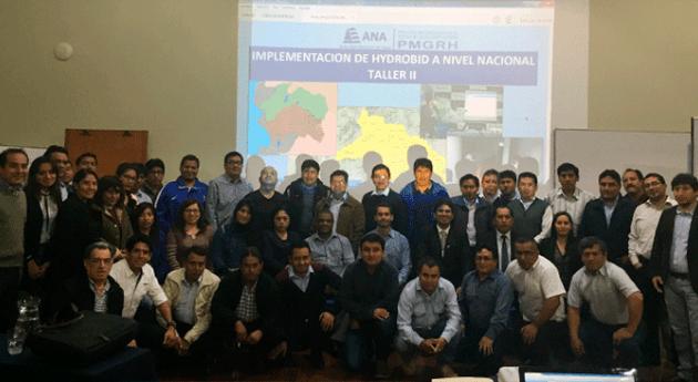 Autoridad Nacional Agua continúa implementación Hydro-BID ámbito nacional