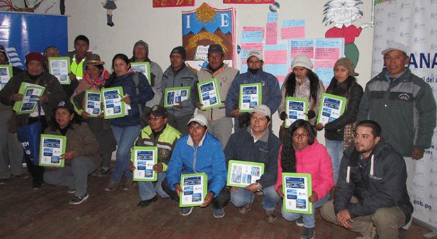 ANA participa mesa temática calidad recurso hídrico Orcopa