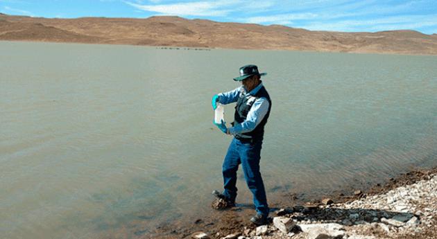 ANA culmina monitoreo participativo calidad agua represas cuenca Quilca-Chili