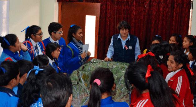 ANA capacita futuros corresponsales escolares y promotores cultura agua Huaral