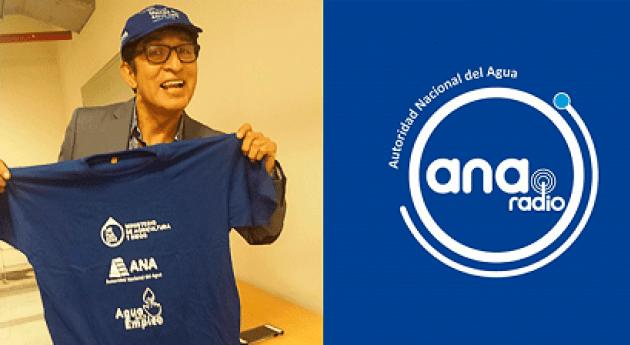 humorista Fernando Armas apoyará campañas uso adecuado agua impulsadas ANA